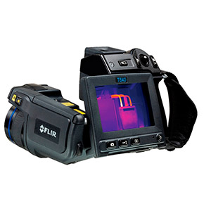 FLIR T610SP thermal imaging in sports science, sports medicine and physiotherapy. Camára termográfica FLIR SYSTEMS T410SP para el deporte, la medicina deportiva y la fisioterapia