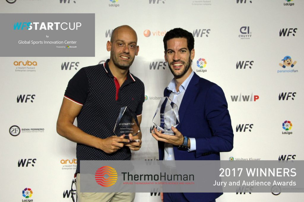 World Football Summit Startcup ThermoHuman