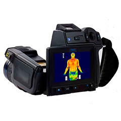Thermal camera sports medicine and physiotherapy