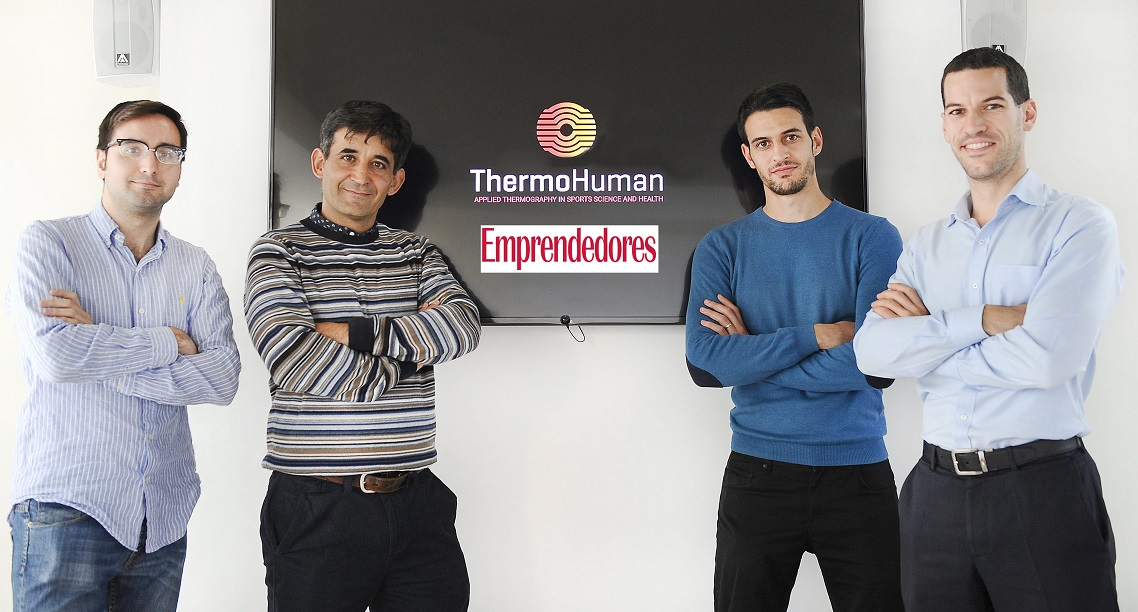 Selected as one of the best 50 startups in Spain by Emprendedores Magazine