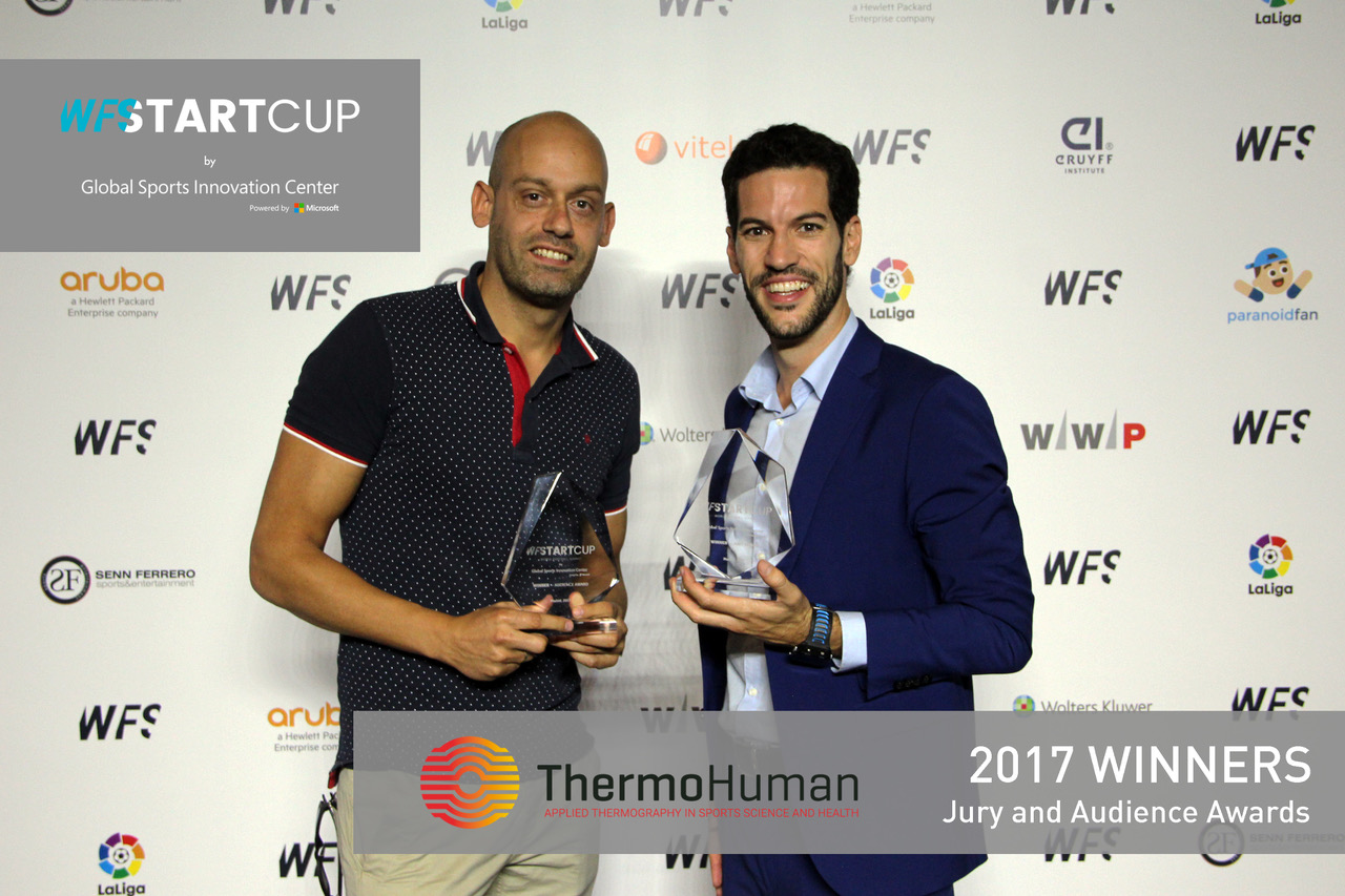 ThermoHuman gana la StartCup 2017 del World Football Summit