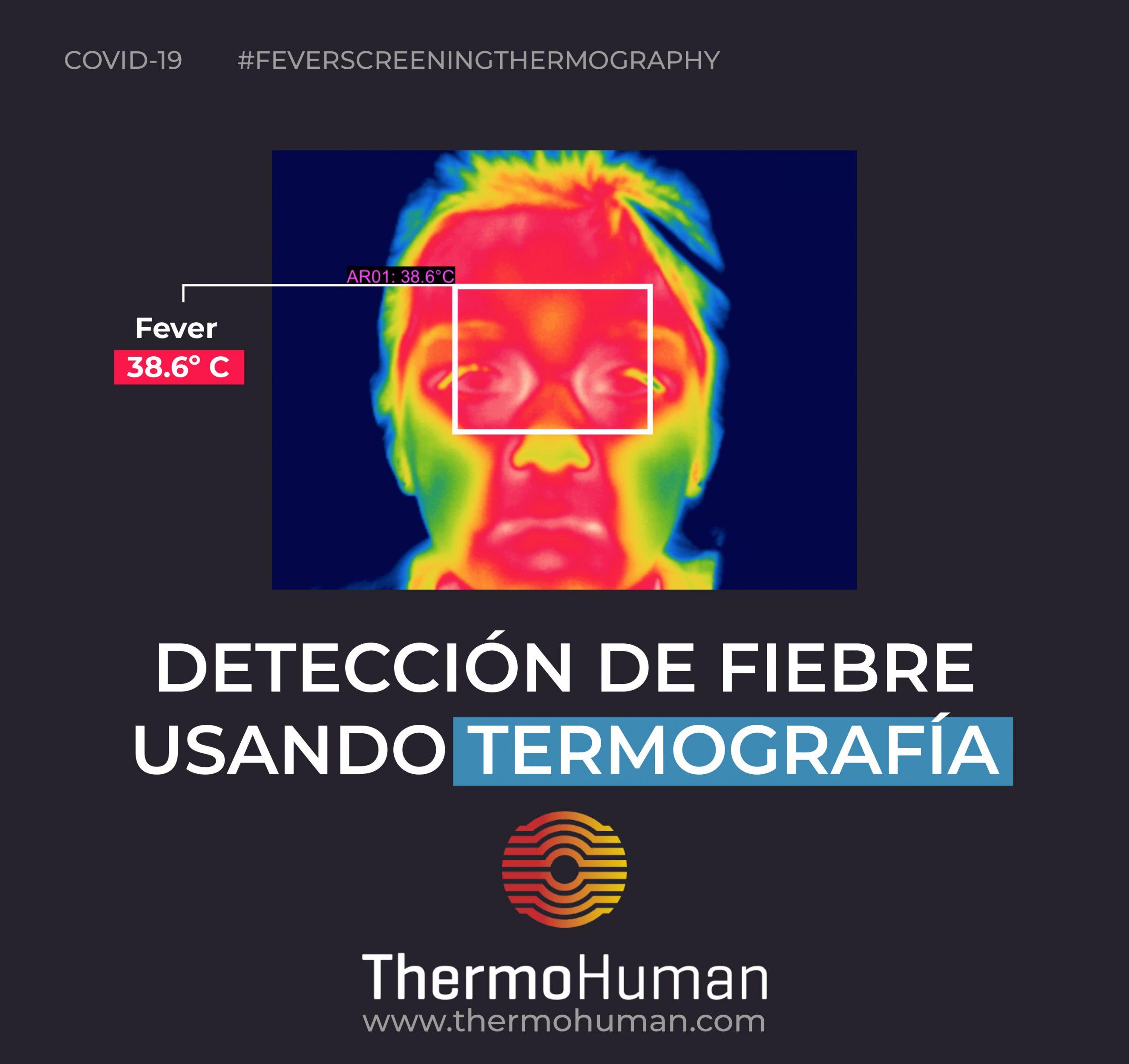 Detección de fiebre usando termografía